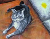 I urinated on your pillow - Damn Cats - magnet