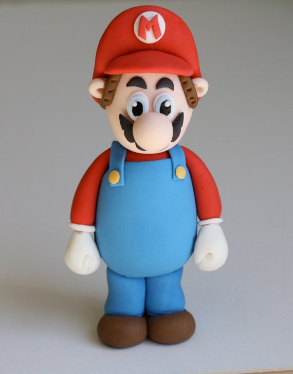 Mario Cake Topper Tutorial