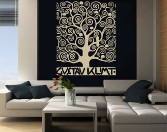 Large Wall Art inspired by Klimtu0027s