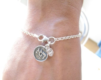 Kabbalah jewelry - Amulet for new beginnings - and protection silver bracelet - Hamsa - Evil eye