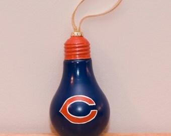 Chicago Bears Bulb Ornament