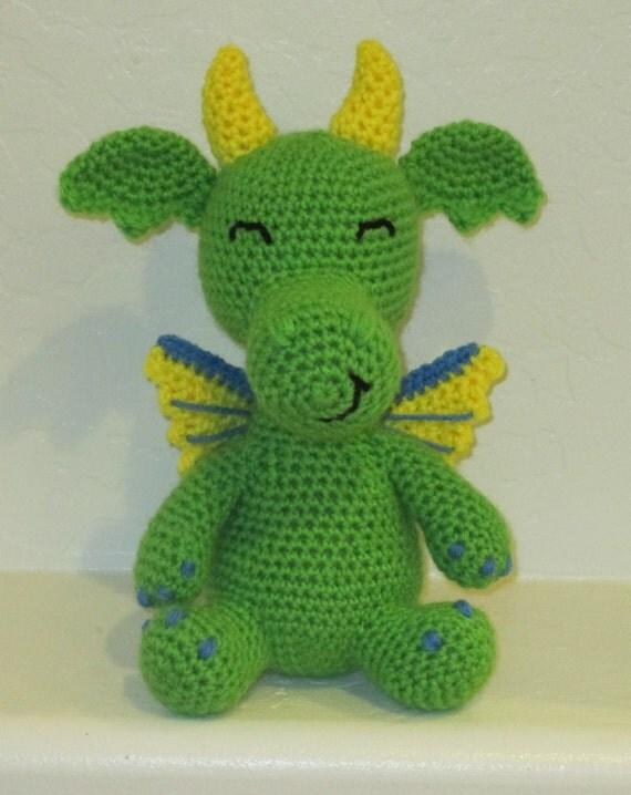 Dante the Dragon - Handmade Crochet Animal