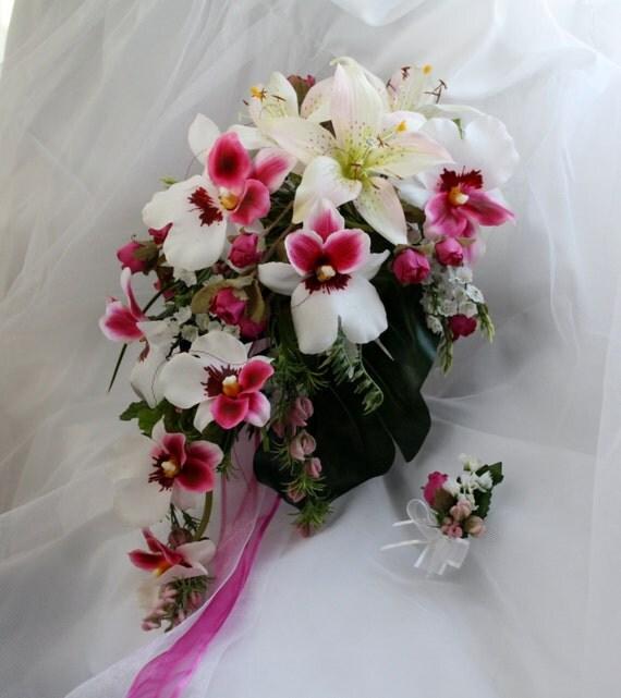 bouquet de mari e bouquet de mariage bouquet fleurs. Black Bedroom Furniture Sets. Home Design Ideas