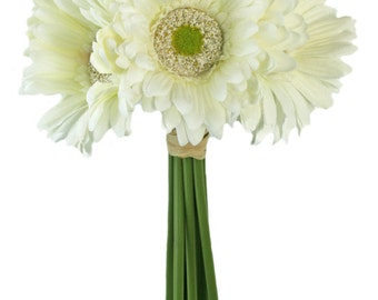 Ivory Daisy Bouquet - Bridal Wedding Bouquet