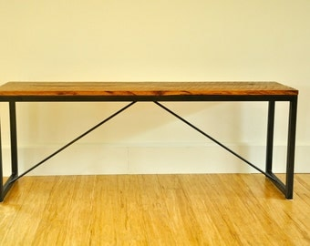 the JEFFERS Reclaimed Wood Bench