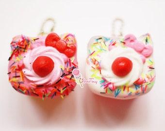 Hello Kitty Shortcake Squishy Charm