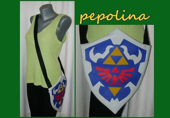 Hylian Shield Ocarina of Time Legend of Zelda Bag