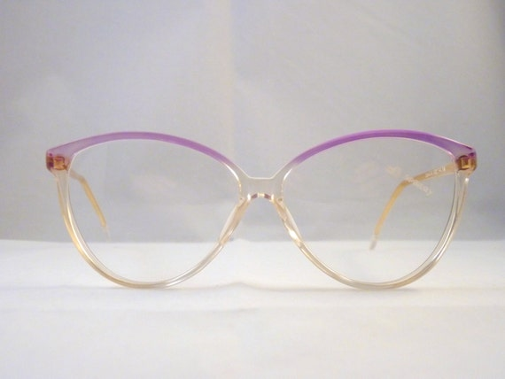 Frame Glasses Made In Italy : Cat Eye girls eyeglass frames made in Italy in the 80s for
