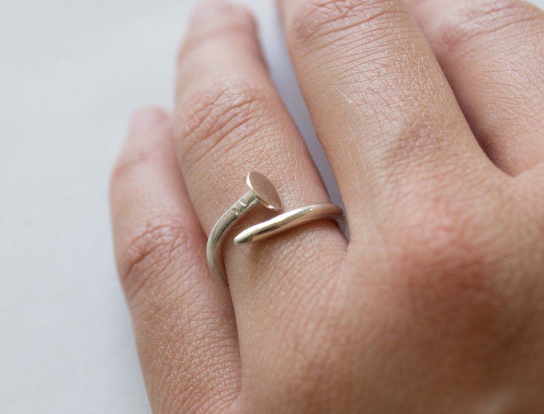 Wrap Around Weddong Ring