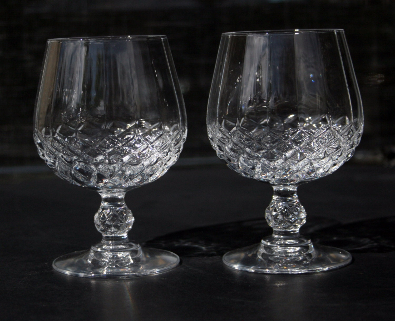 cristal d 39 arques diamax longchamp 24 lead crystal brandy. Black Bedroom Furniture Sets. Home Design Ideas