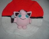 Jigglypuff Pokemon Amigurumi