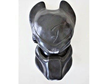 1:1 Full Scale Prop Replica Sideshow Predator AVP Scar Helmet Mask Bio black Home decor decoration Living room Bedroom Wall hanging PD1