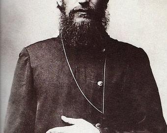Fridge Magnet Rasputin Charismatic character for Czar Nicholas II and Alexandra Russian royalty