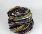 140 Yards Worsted Weight Single Handspun Merino Yarn 4 oz