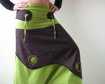 SALE -Aladdin Pant - Afghani Harem Pants - Psy - Rave - Cotton - Men - Women