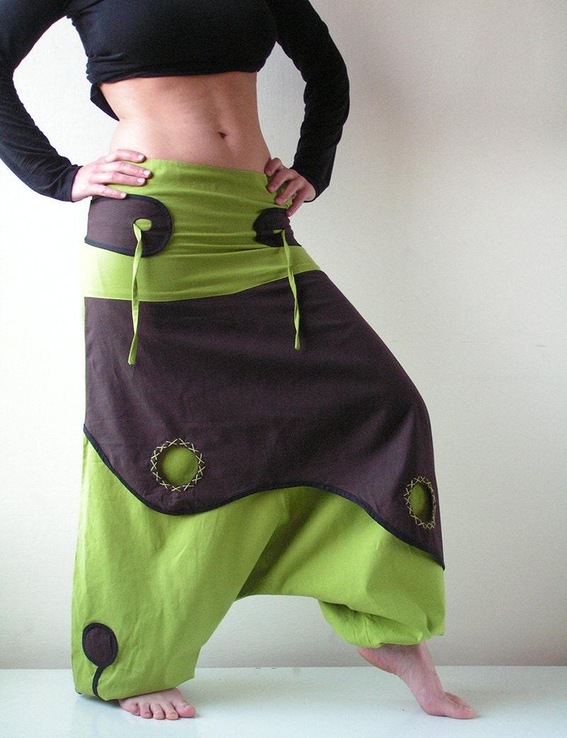 Aladdin Pant Afghani Harem Pants Psy Rave Cotton Men