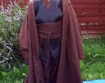 Handmade Anakin Skywalker Robes - Kids Handmade Jedi Robes - Star Wars Fancy Dress Costume