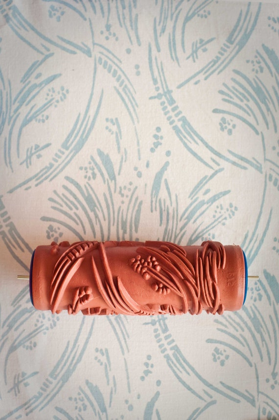 No. 3 Patterned Paint Roller from The Painted House