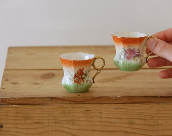 Vintage 1960's Coffee Cups