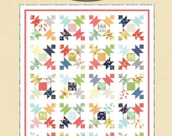 All A Flutter quilt pattern by Cotton Way