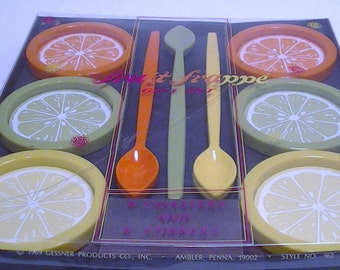 1969 Fruit Frappe Gift Set