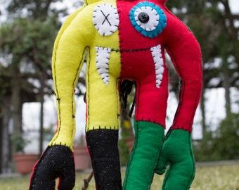Rastafang Plush Monster