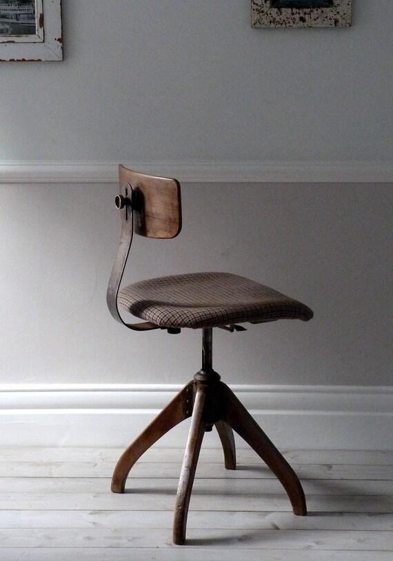 1930 S Bauhaus Oak Architects Industrial Chair
