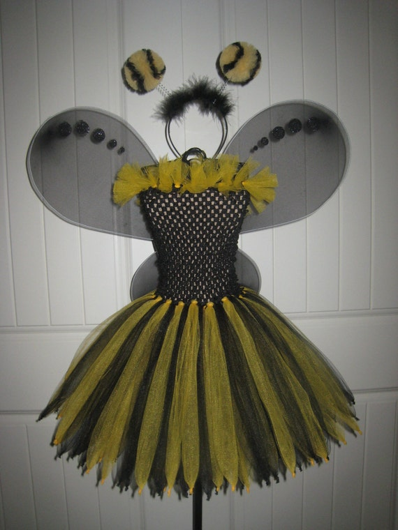 Bumble Bee Tutu Listing for Mami's 3 Little Monkey's Blog