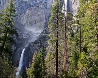 Upper and Lower Yosemite Falls, Fine Art Photography