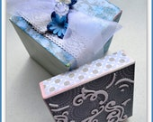 Special Occasion Gift Box, Wedding Gift Box, Personalized Gift Box, Gift Box for Her, Repurposed Gift Box, Decorated Box, Custom Box