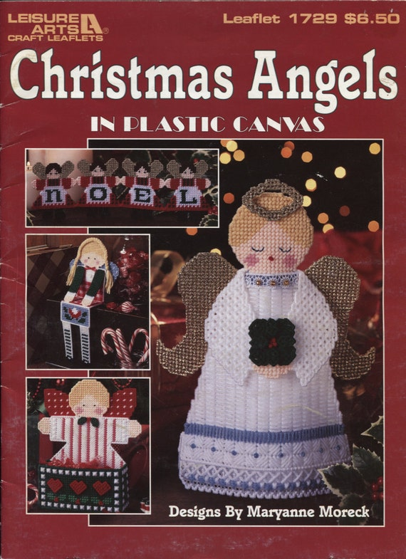 Christmas Angels In Plastic Canvas Patterns Leisure Arts