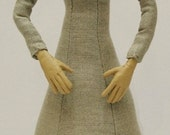 Tudor Woman Doll Kit - Blonde Hair