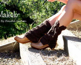 Maleolo, the Nada Boots. Turn your favorite pair of heels into boots...instantly. PATTERN