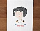 Postcard - Hello Sailor-