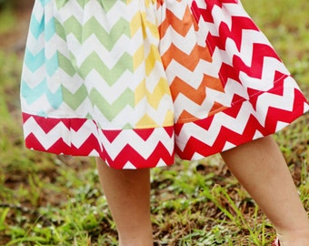 Melany twirl skirt - pdf tutorial - ebook - 6m - 12y