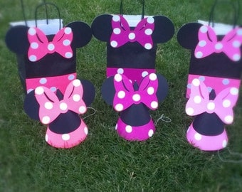 Minnie Mouse Party Hats & Bags