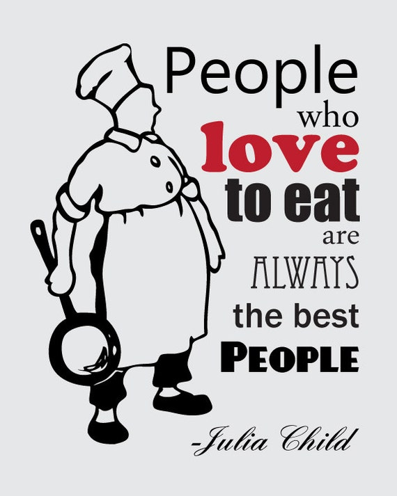 items similar to julia child people who love to eat