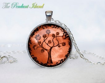TREE OF LIFE Pendant  Tree of life Necklace Jewelry Necklace for him  Art Gifts for Her(P3H06V04)