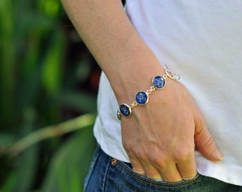 Doctor Who Gallifreyan Companions Charm Bracelet