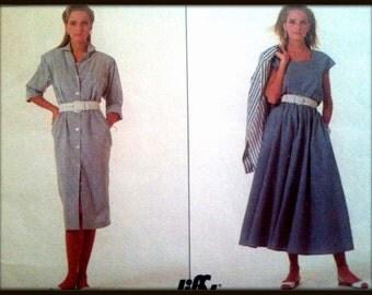 Simplicity  8075  Misses Skirt, Pants top and Dress   Size  (12-18)  Uncut