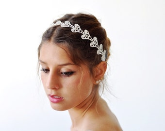 BRIDAL HEADBAND, bridal HEADBAND rhinestone, bridal headband crystal ,Swarovski bridal headband, Bridal Hair Accessories