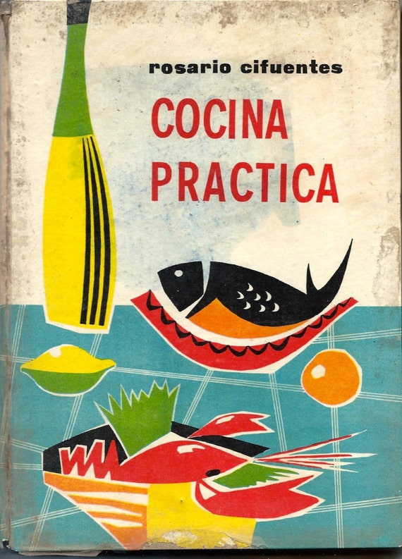 Food Book Cover Job : Vintage spanish recipes from a bookcook cuisine