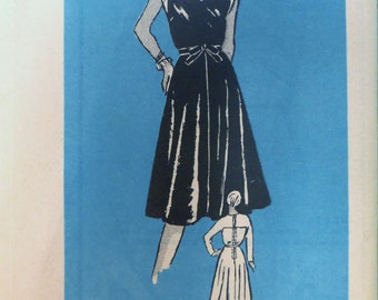 Vintage 1960s Mail Order Lace top DRESS Pattern size 18 UNUSED