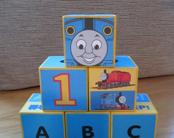 Thomas the Tank Engine Wooden ABC Blocks