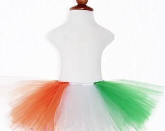 TUTU SKIRT...St Patrick's Day Tutu Skirt...Newborn Tutu...Baby Tutu...Toddler Tutu...Cakesmash Tutu...Birthday Tutu...Summer Dress