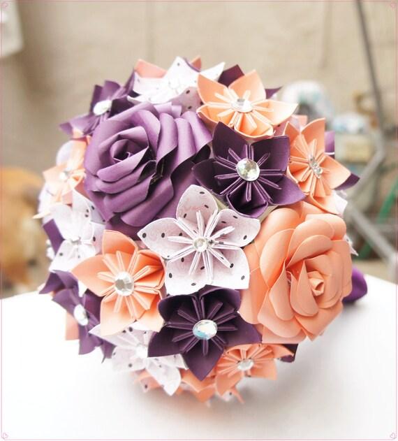 Bien-aimé Custom Wedding Kusudama Origami Paper Flower Package BO99
