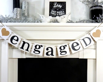 Engagement photo prop / Wedding Garland / Engaged Wedding / Engagment Photo Shoot / Prop/ Wedding Decoration Signage/ Reception Decoration