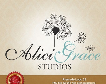 Premade Logo and Watermark, custom business logo - pml-23