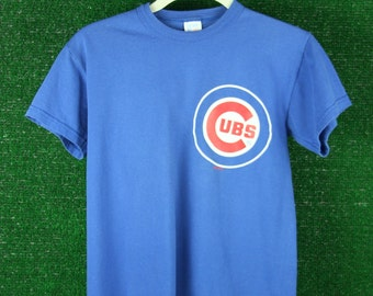 Childrens CUBS baseball tshirt tee size Youth small 12/13 or Adult XS
