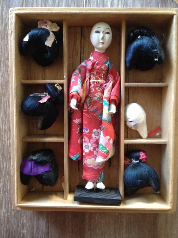 Geisha Doll Wigs 52